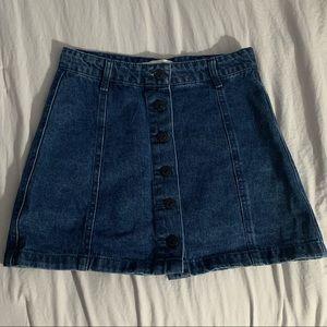 Dresses & Skirts - Button Down Denim Skirt